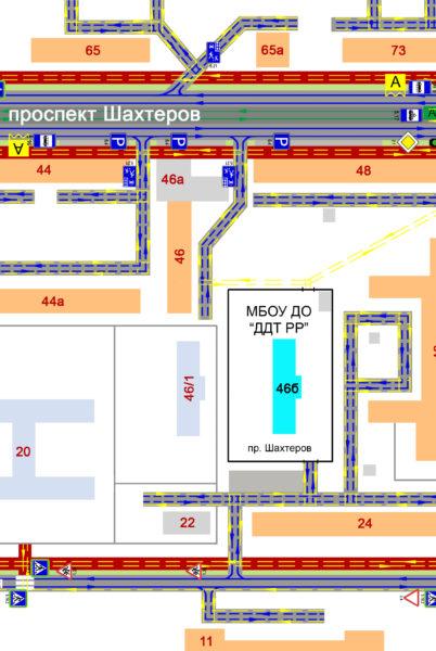 схема организации дорожного движения вблизи учреждения (1)