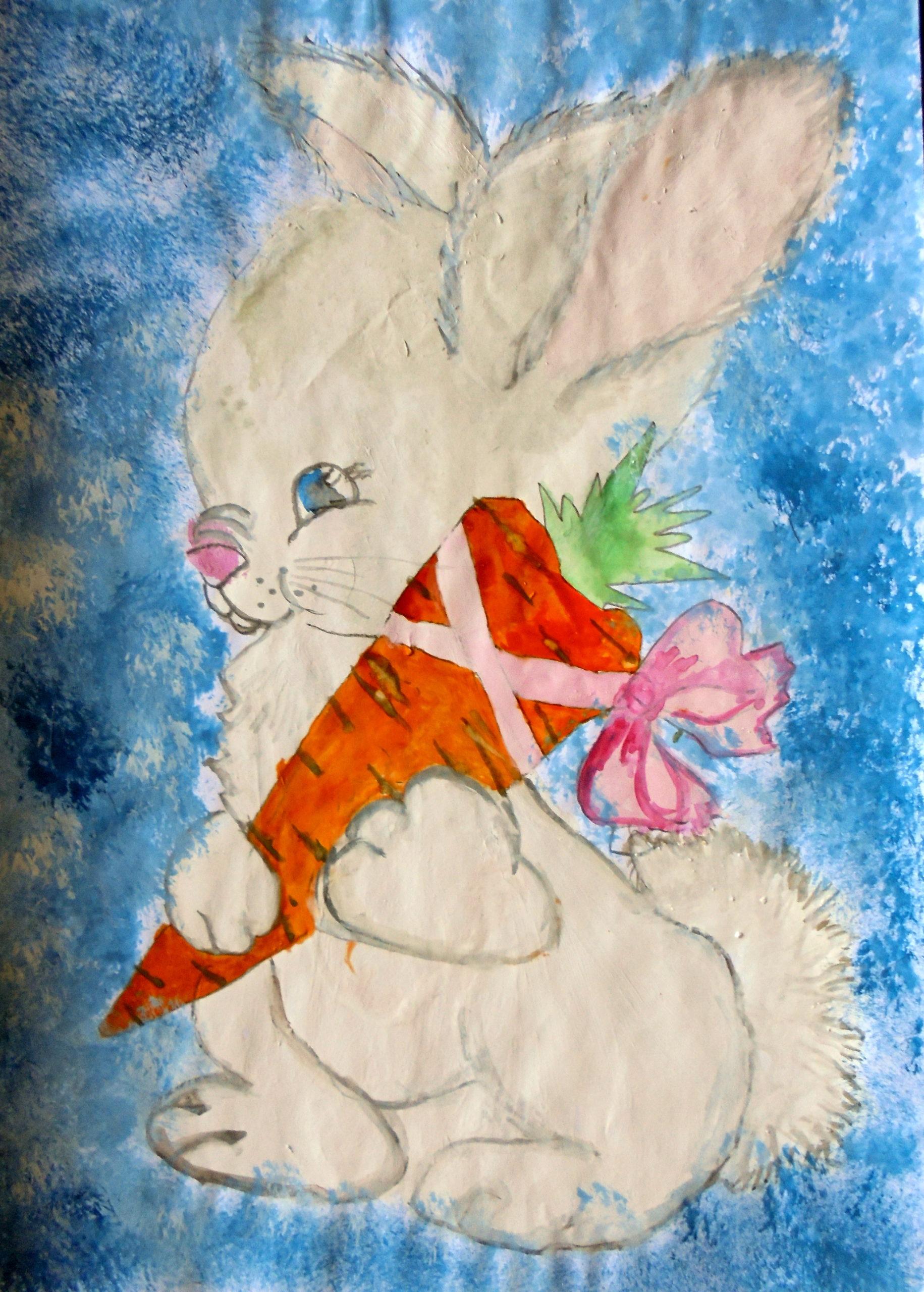 Чирун Юля. Ешьте вкусную морковь