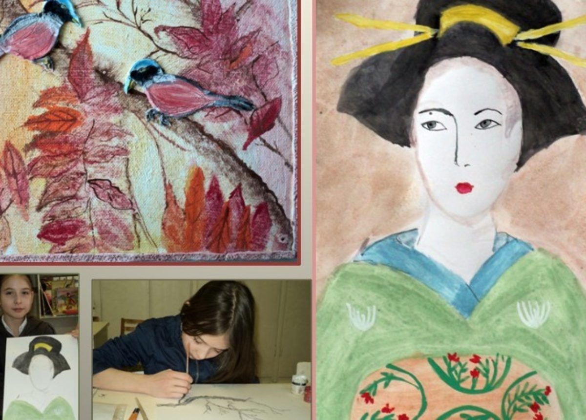 1.Рисуем Японию