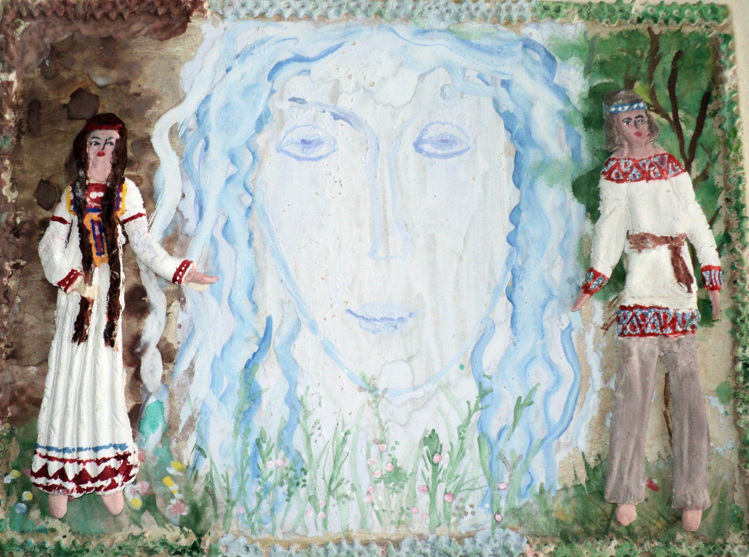1. Поклонение воде. Лазорева Полина
